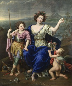 Pierre Mignard, The Marquise de Seignelay and Two of her Sons (1691), The National Gallery, London (NG2967)