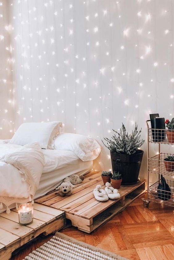 String Light Bedroom Decor Novocom Top