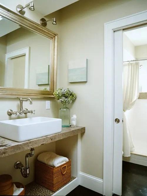 Yellow And Grey Bathroom Decor