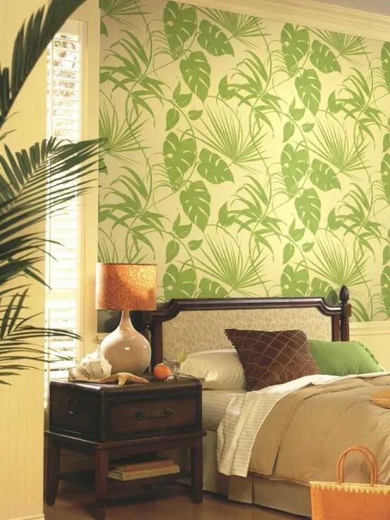 Light Green Bedroom Wallpaper Novocom Top