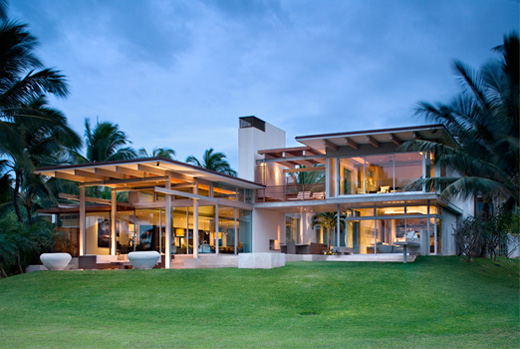 Dream Tropical House Design In Maui By Pete Bossley
