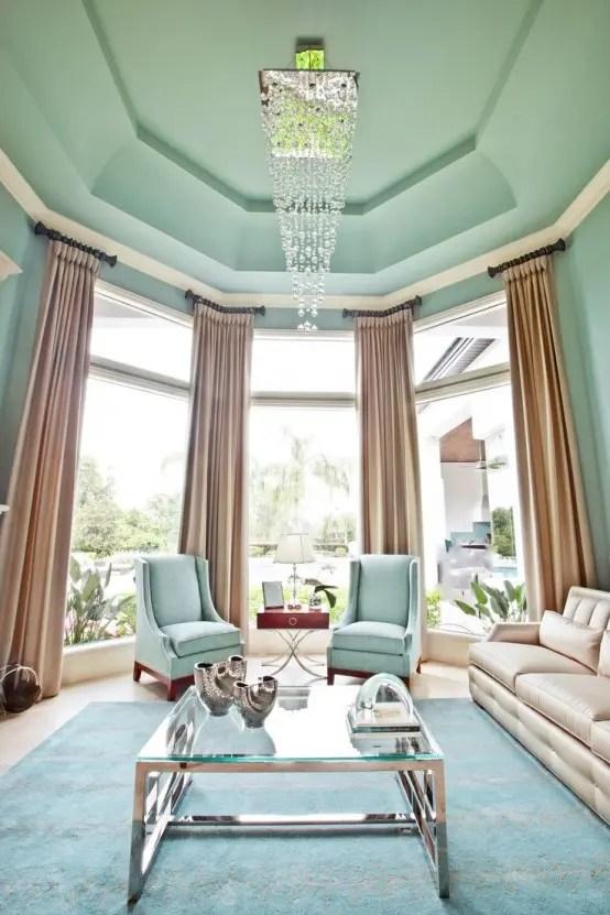 Living Room Mint Green Paint Colors Novocom Top