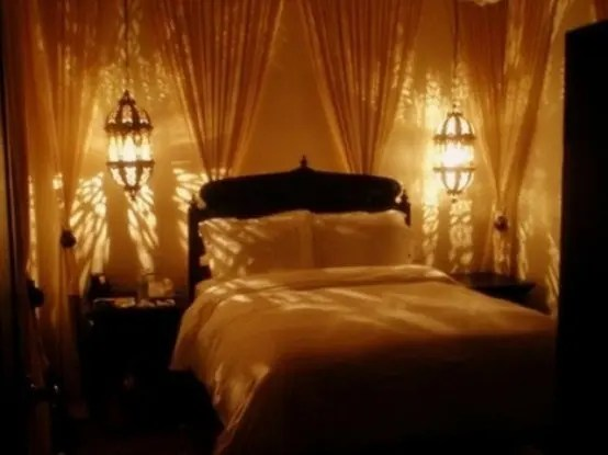 48 Romantic Bedroom Lighting Ideas