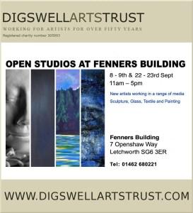 Fenners Open Studios Poster