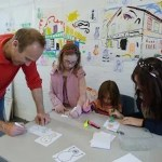 The Big Draw at Fenners 2012