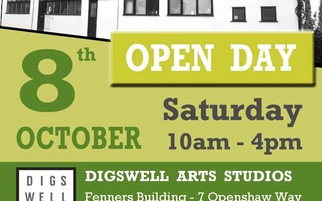 Open Day at Fenners Studios in Letchworth – Saturday 8th October 2016