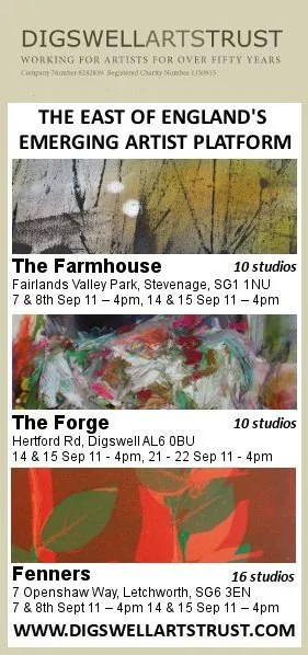 Open Studios – At all three Digswell Arts Trust sites