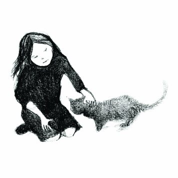 """""""My sister likes cats"""", Illustration by Jane Glynn"""
