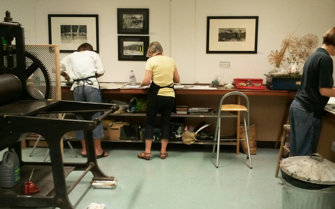 Summer Print Workshops – only a few spaces left!
