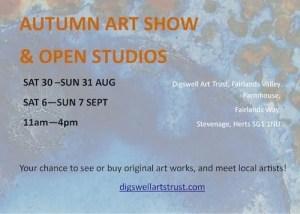 Open Studios poster 2014