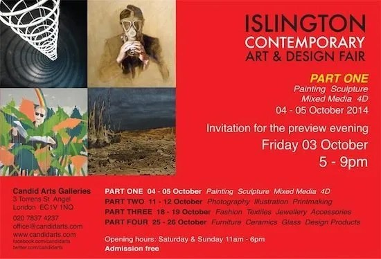 Islington Contemporary Art & Design Fair