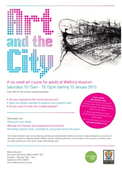 Art and the City –  booking now open