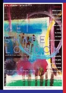 We Shape London Poster Invitation
