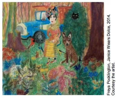 Freya Pocklington's artist residency will celebrate Beatrix Potter in 150th anniversary of her birth.