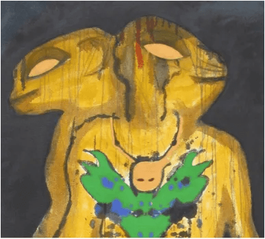 Tina Reid, Divinity (2015) mixed media