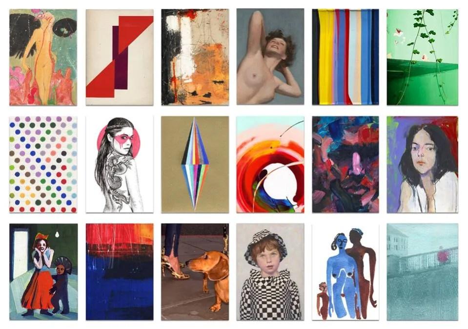 Hideki Arichi – Art on a Postcard at Maddox Gallery Mayfair.
