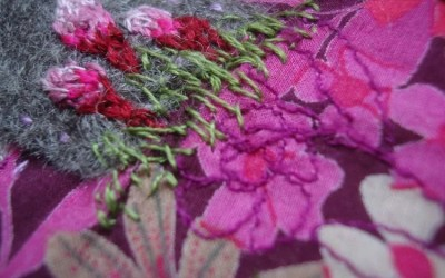 Finders Keepers – Tales in Textiles!Touring exhibition by Digswell Alumni Connie Flynn