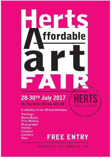 DA Artists to feature in Herts Affordable Art Fair