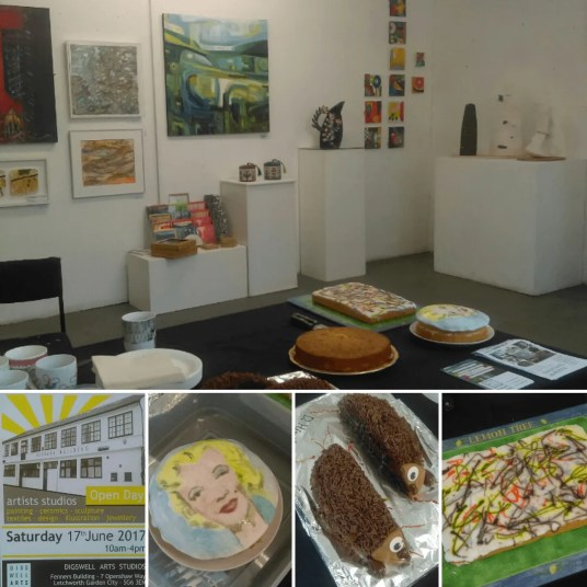 Exhibition and cake sale