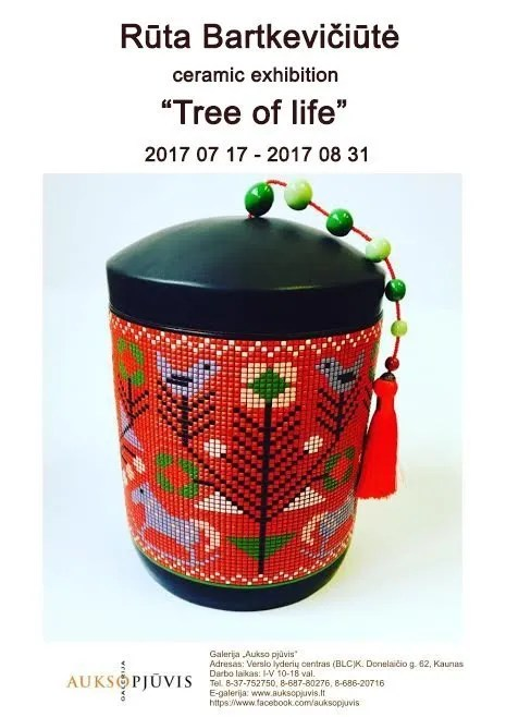 'Tree of Life' exhibition by Ruta Bartkeviciute