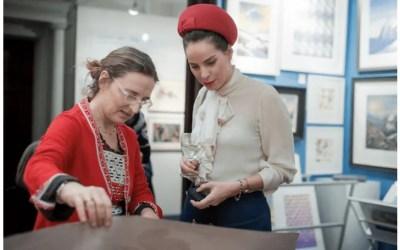 Hideki Arichi exhibiting with Hanga Ten Gallery at Works on Paper Art Fair