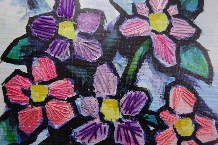 Digswell Alumni Connie Flynn is offering a variety of textile workshops