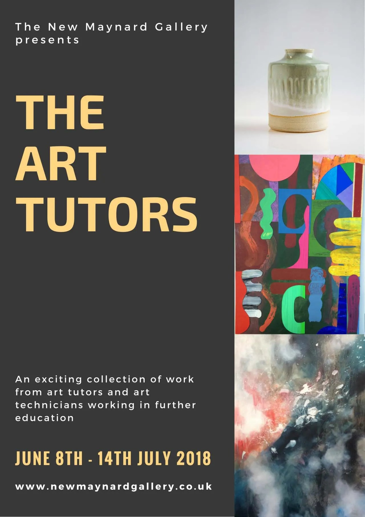 Stuart Jones exhibits with The Art Tutors Group at The New Maynard Gallery