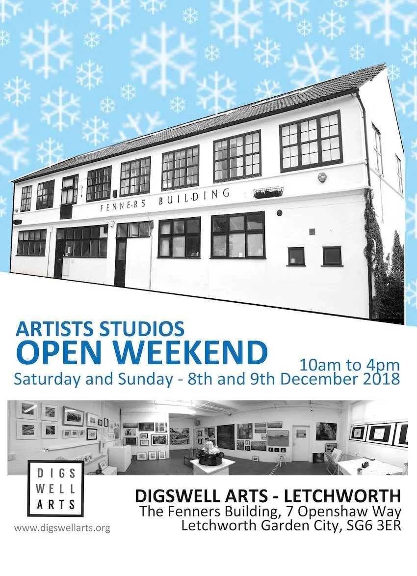 Winter Open Studios at the Fenners