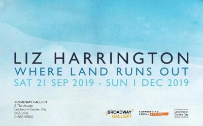Liz Harrington solo exhibition at the Broadway Gallery, Letchworth