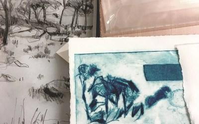Drypoint Printmaking Workshop with Sue Jarman