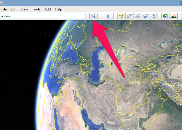 How to go back in time on Google earth 2