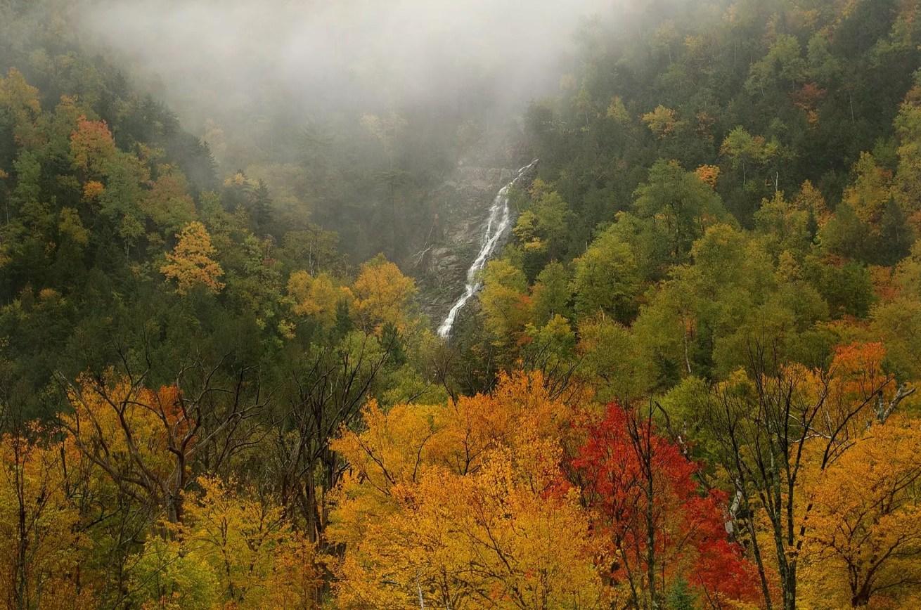 Cascade Lake Falls