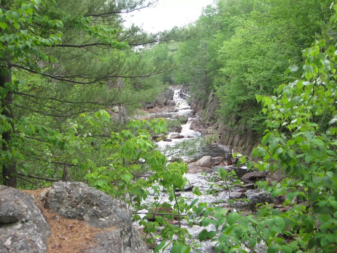 Gleasmans Falls, Lewis County, New York