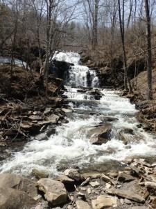 Lansing Kill Falls, Lansing Kill, Oneida County, New York