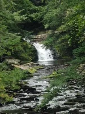 Parksville Falls, Sullivan County, New York