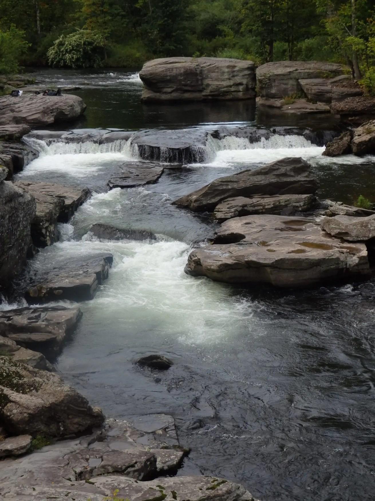 Fallsburg Falls - Fallsburg | Dig The Falls