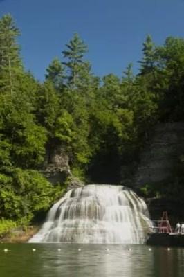 Robert H Treman State Park Lucifer Falls