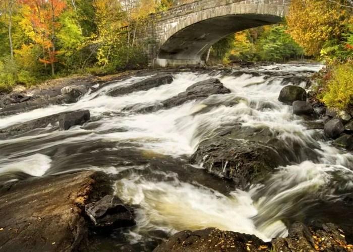 Bog River Falls waterfall 2