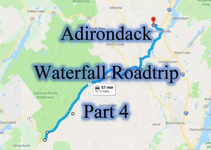 Adirondack Waterfall Roadtrip part 4