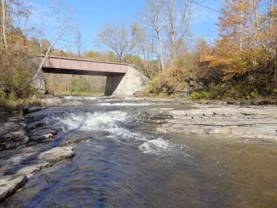 Big Brook Lower Falls, Oneida County, New York