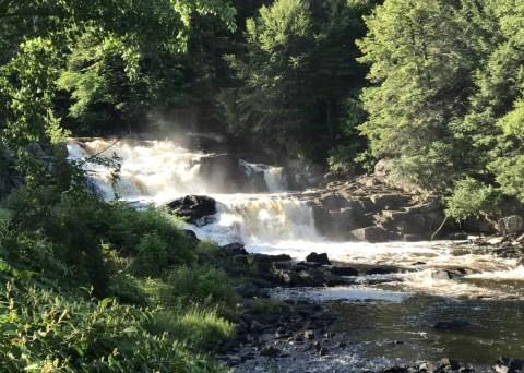 St. Regis Falls, Franklin County, New York