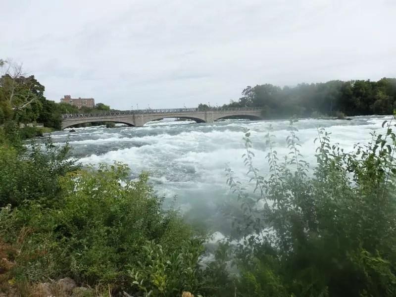 Niagara Falls, American Rapids, Niagara County, New York 8-15-2016