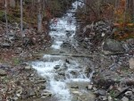 Unnamed Stream falls on, near Railroad track, Lewis County, New York 10-18-2014