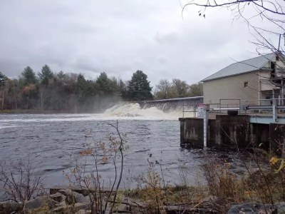 Denley Dam and Falls, Lewis County, Ny 10-18-2014