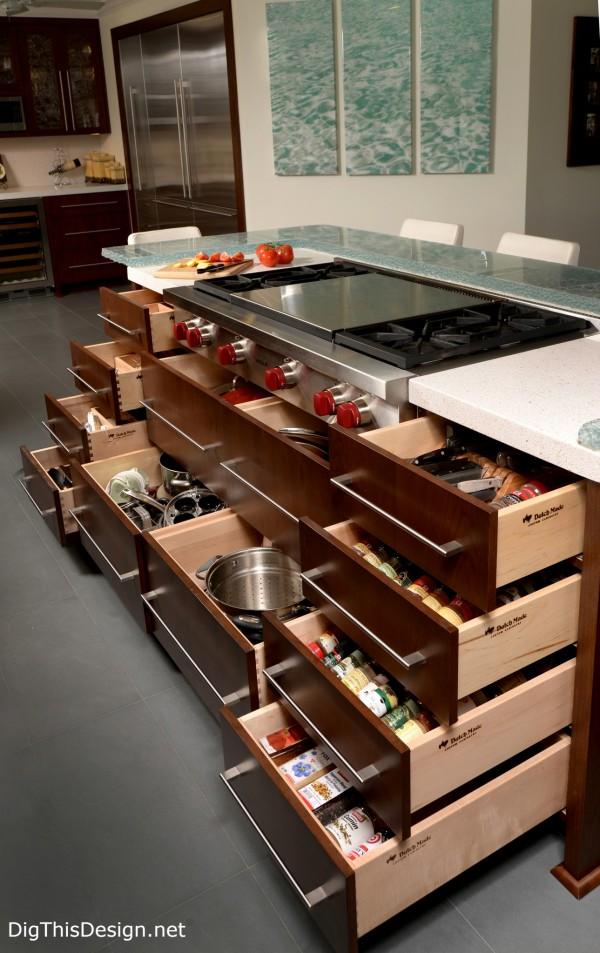 drawer organizers for the kitchen island pdb