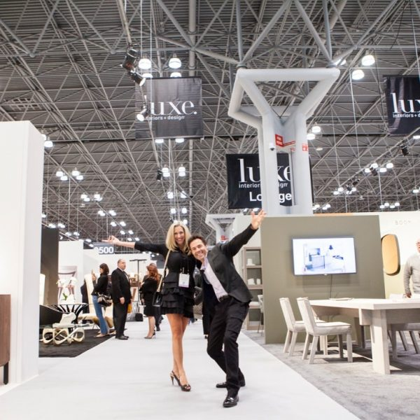 Kitchen Color Trends 2017 - K+B Insider, Patricia Davis Brown & Karl Champley attending ICFF Show NYC.