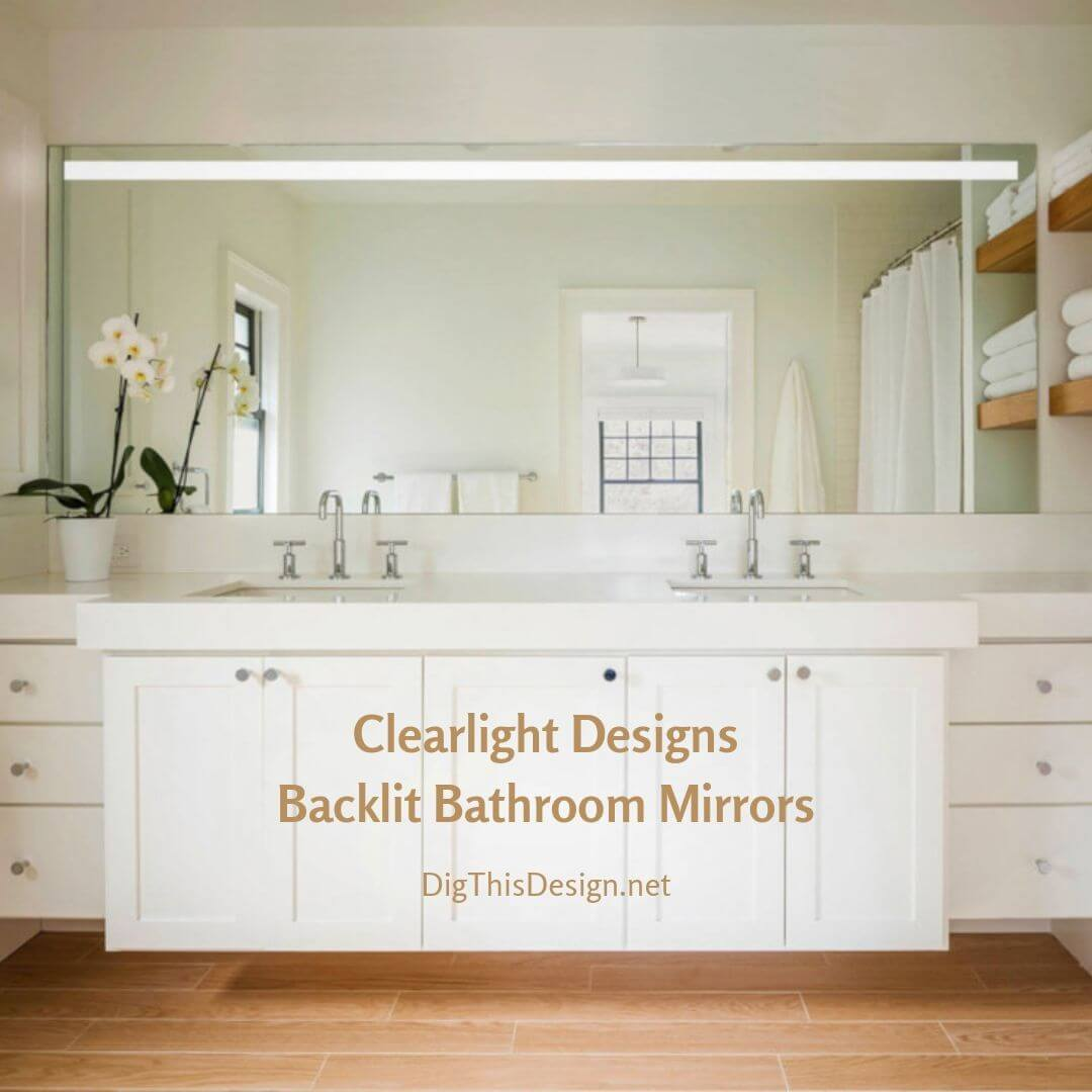 Clearlight Designs • Gorgeous Backlit Bathroom Mirrors