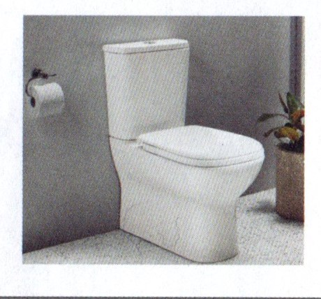 Toilet Roll behind the toilet! How smart is that?