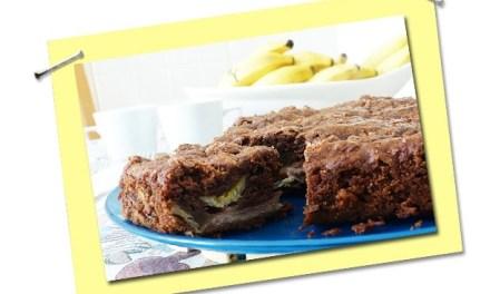 Torta de Banana Crioula e uma versão ainda mais saudável