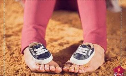 Ser mãe é dar um passo de cada vez